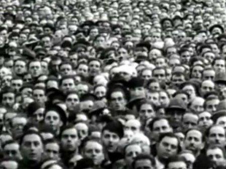 A faceless mass
