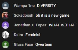 no diversity